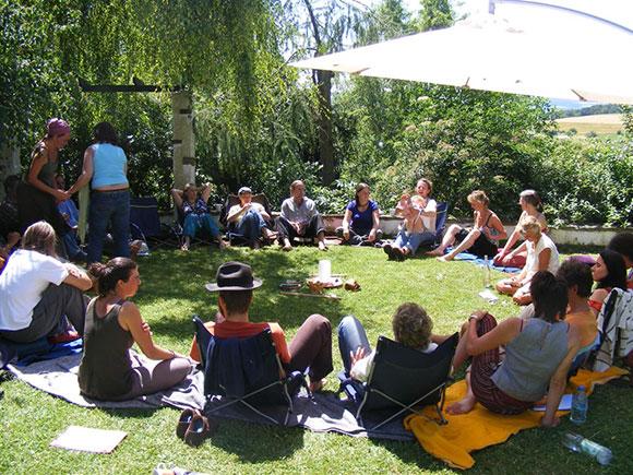 Große Gartenrunde 2008