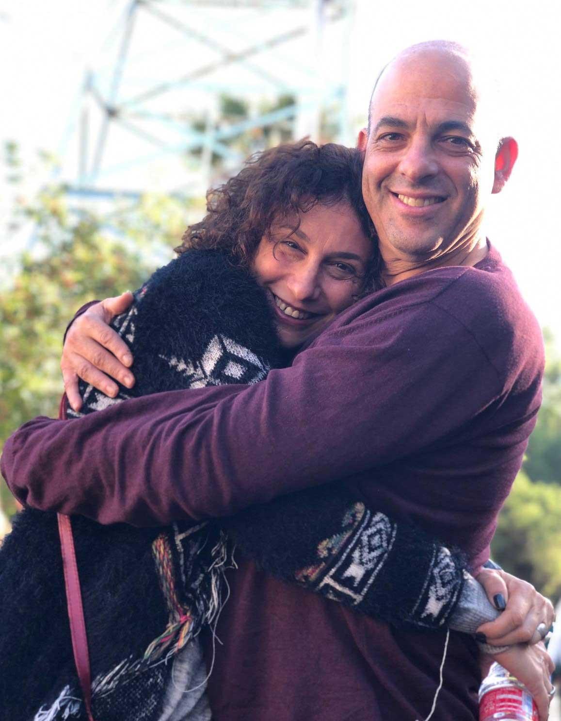 Shay und Galit Hanien